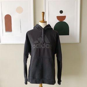Adidas Hooded Sweatshirt Size Large